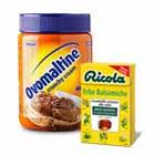 Ovomaltine шоколадная паста, Ricola леденцы/чай