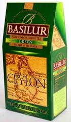"Basilur Green Tea (""Зелений"") (100 г) картон"